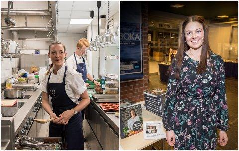 TIPS: Kokk Tiril Korneliussen og matbloggar og kokebokforfattar Linda Stuhaug kjem med tips til julematen.