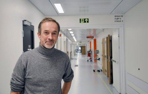 – Budsjettet for 2018 blir stramt, sier direktør Just Ebbesen.