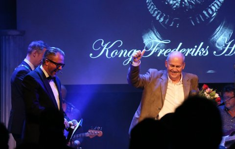 HEDERSPRISVINNER: Tor Harald Jørgensen ble tildelt Kong Frederiks Hederspris á 2017 for sitt utrettelige frivillighetsarbeid gjennom en årrekke. Jørgensen er en markant skikkelse rundt Kulturhuset Ekko i Fredrikstad.
