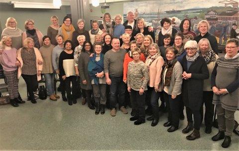 30 år: ØSS blanda kor kan feire sine første 30 år som sykehuskor. Nå inviterer de til jubileumskonsert lørdag 10. mars.