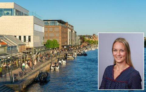 Seksjonssjef Eva Cathrine Langø i Mattilsynet forklarer at koronapandemien har ført til et etterslep på smilefjestilsyn, men at kontrollørene nå er i gang med tilsyn i Østfold og Follo.