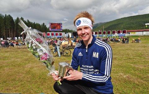 Marcus Aarsund ble U21-norgesmester.