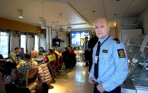 HAR OPPLEVD DET FØR: Terje Røsås i politiet oppfordrer folk til å kontakte dem med en gang om noen oppdager uvedkomne i eiendommen sin. Arkivfoto: Fritz Hansen.