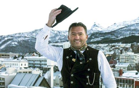 Ny VU-SJEF: Frode Sollie (50) er på plass i Narvik, og har begynt i jobben som daglig leder i Vinterfestuka. – Jeg føler at jeg har hoppet på et malmtog i fart. Pressefoto