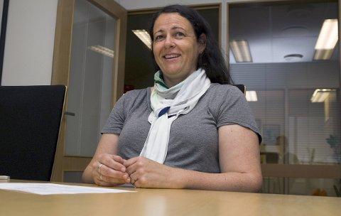 NY LEDER: Natalie Hermanstad er valgt til ny styreleder i Horten Høyre.