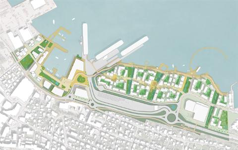 Havneområdet må bli Hortens grønne ansikt utad.