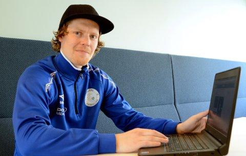 Kim Kristiansen, her iført Follebu-uniform, er ein av initiativtakarane til den nye fotballklubben på Lillehammer.