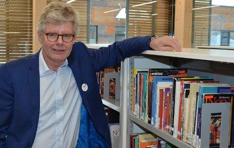 FANT FORKLARINGEN: Kompetanse- og tannhelsesjef Tore Gregersen fant forklaringen på hvorfor søkertallene til de videregående skolene i Innlandet så ut til å ha gått dramatisk ned. Nye fylkesgrenser var årsaken.