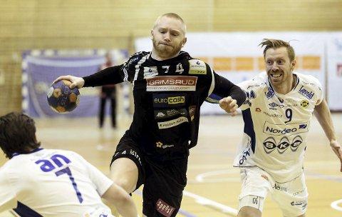 VIKTIG KMAP: Victor Skillhammar og HTH møter Runar i Remmenhallen i morgen kveld. Arkivfoto: Hans Petter Wille