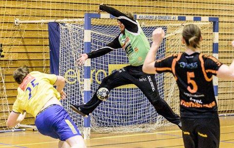 USIKKER: Rasmus Bech er småskadet, og det er fortsatt usikkert om han spiller søndagens hjemmekamp mot Nøtterøy.