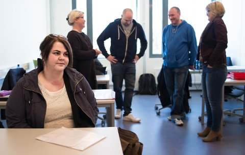 KLARTE DET: Liv Randi Bekken Langgård har brukt et halvår på å ordne seg fagbrevet.Alle foto: Jo E. Brenden
