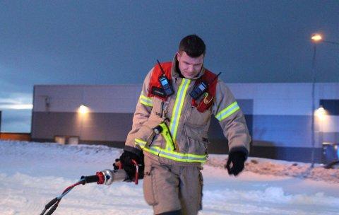 REDNING: For brannmester Gøran Bolle Eriksen er brann og redning en livsstil. - Du slutter ikke å tenke jobb, selv når du logger deg av vakt.