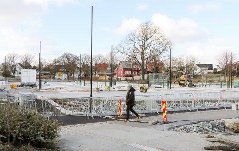TERMINAL: Nye Haugesund bussterminal på Flotmyr.