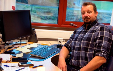Helse- og omsorgssjef i Rødøy, Petter Tindvik.