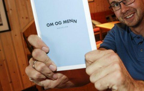 Tor Martin Leines Nordaas forfatter med ny bok Om menn. Sammen med sønnen Sigve på skrivestua