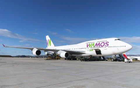 UAKTUELT: Boeing 747 Jumbojet vil ikke kunne benytte rullebanelengde på 1.200 meter eller 2.300 meter.FOTO: STIAN ELIASSEN