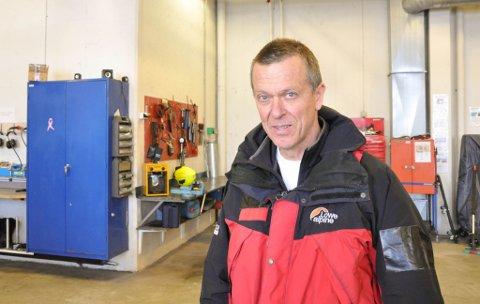 """KURSLEDER: Bjørn Magnar Bjerkan i Stiftelsen Norsk Luftambulanse var kursleder for kurset """"Mens du venter på ambulansen"""" i Alta denne uka."""