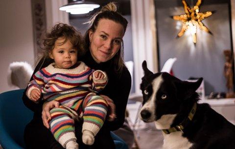 VENTET: Trine Jennycorn (36) ble mamma for første gan for litt under ett år siden. Da fikk hun datteren Ada. Dette var et bevisst valg da hun ikke føte seg klar for å bli mor i 20.årene.