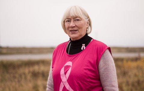 FIKK BRYSTKREFT: Solveig Methi (65) fikk brystkreft for seks år siden.