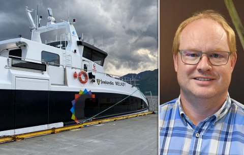 STORT ANSVAR: Seksjonsleder Ole Håkon Haraldstad forteller at de allerede i neste uke kan ha den nye sjøfaglige rådgiveren på plass. Vedkommende får mye å gjøre, med blant annet å planlegge ruter og produksjon på båt og ferge i Finnmark.