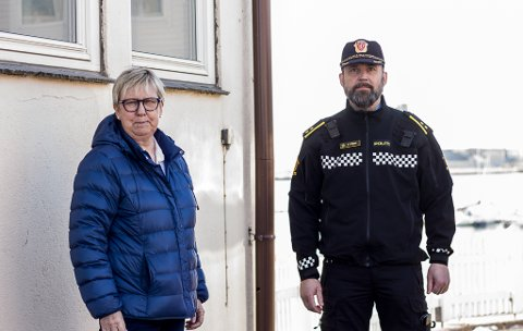 Wenche Pedersen og Odd Børre Evensen