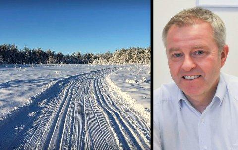 OPPGITT:Leder Carl Fredrik Havnås i Mangenfjellet Turlag.