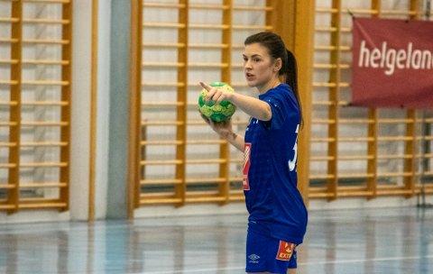 TOPPSCORER: Isa Helene Sørnes bidro ved ni scoringer mot Levanger 2, åtte av dem fra åpent spill.