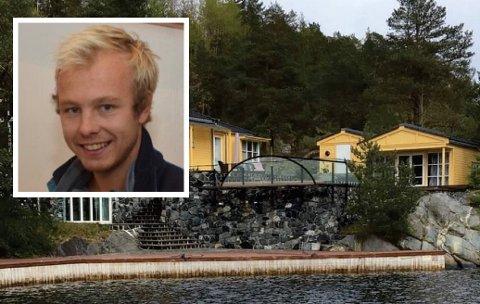 STO PÅ SITT: Emil Lønne Fredriksen (Sp) ville ikke vike for Fylkesmannens syn på saken. Han fikk flertallets stemmer for å tillate hytteeieren på Risøy å bygge glasstak, som illustrert på bildet.