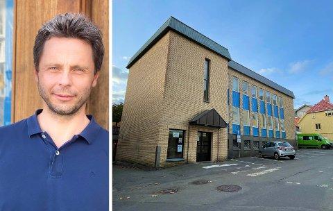 REVIDERES: Daglig leder Knut Bremer ved Fredensborg Fritid Kragerø AS er blant dem som jobber med nye løsninger for Posthusgården.