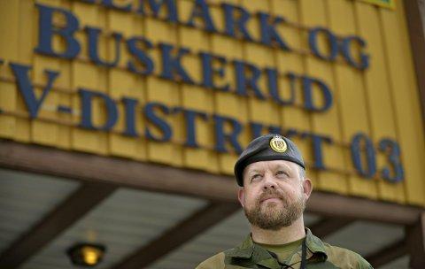 Vekst: Morten Sundal er sjef på Heistadmoen. Han vil gjerne ha tilbake den delen av leiren som ble solgt til private.