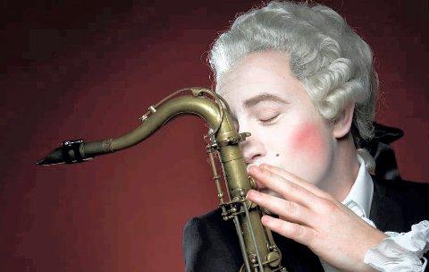 ALLSIDIG: Håkon Kornstad er både jazzsaksofonist og operasanger. Han kommer til Glogerfestspillene 2020.