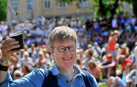 PRISVINNER TILBAKE: Maria Kannegaard mottok musikerprisen på jazzfestivalen i 2010.