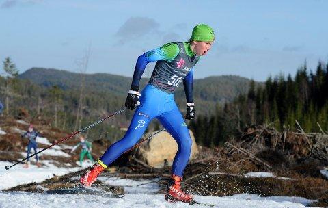 KJEMPELØP: Ole Marius Kirkeng gikk et kjempeløp da han slo tre av fire nybakte juniornorgesmestere og presterte karrierebeste.