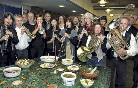 Smakfull meny: Både musikken og maten pleier å falle i smak under Sild og jazz. arkivfoto