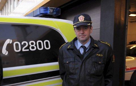 Politistasjonsjef: Politistasjonssjef ved Svolvær politistasjon, observerer ofte farlige situasjoner på vei til og fra jobb.
