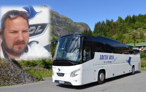 DRIFTSLEDER: Odd-Helge Berntsen er ny driftsleder for Arctic Buss Lofoten