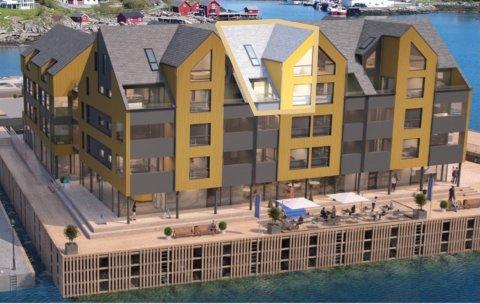 DYREST: Leligheten som er markert er på 120 kvadratmeter, går over to etasjer, har to soverom og koster ti millioner.