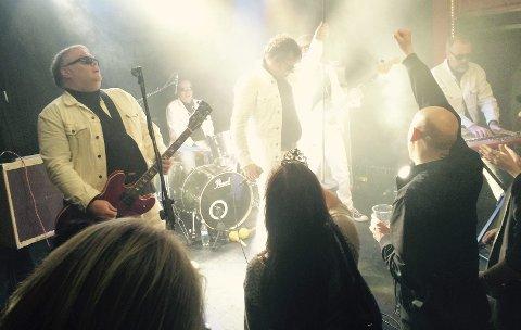 TILBAKE: De erfarne rockerne i The Cosmic Dropouts spiller på Festivalen Sin for andre året på rad.