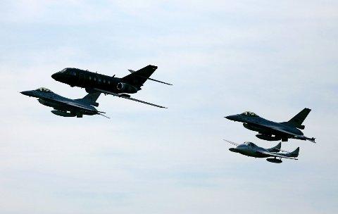 Det er åtte år siden sist Luftforsvaret arrangerte flyshow på Rygge.