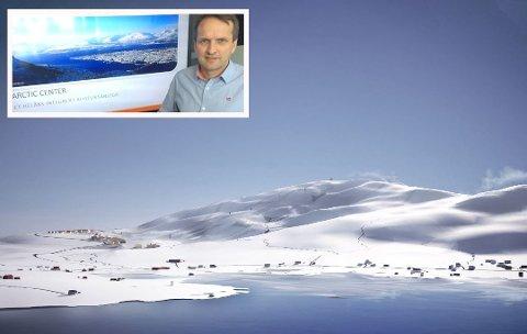 MÅL I SIKTE: Flere planer for Arctic Center er nå klare til behandling. Daglig leder Erik Joachimsen (innfelt) mener framdriften er på topp.