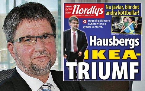 IKEA-DRØMMEN BRAST: Tidligere Tromsø-ordfører Arild Hausberg var sentral i arbeidet med å få møbelgiganten til Tromsø. Nå forteller han om hva som foregikk i kulissene.
