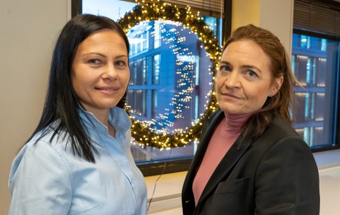 SKEPTISK: Advokatene Anett Beatrix Osnes Fause (t.v.) og Cecilie E.Drechsler er blant advokatene som har reagert på Sparebanken Nord-Norges nyeste tilbud.