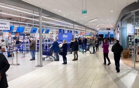 Coop Obs er den butikken med størst omsetning i hele Coop Nord-systemet. Foto: Silje Løvstad Thjømøe