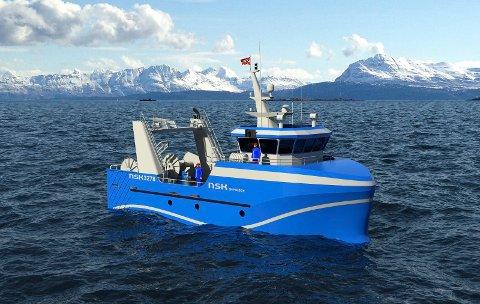 Kombinert tråler og snurrevad – NSK 3278, Photo: NSK Ship Design