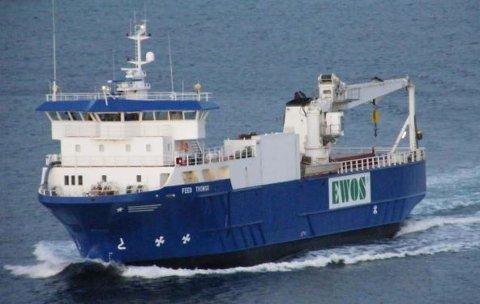 PENGEMASKIN: Feed Tromsø kan ha verdier for 20 millioner i lasterommet.