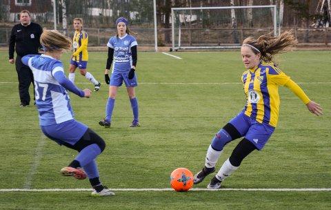 Nora Tømte og Biri fikk en knallstart på sesongen i 3. divisjon med seier over Nordre Trysil.