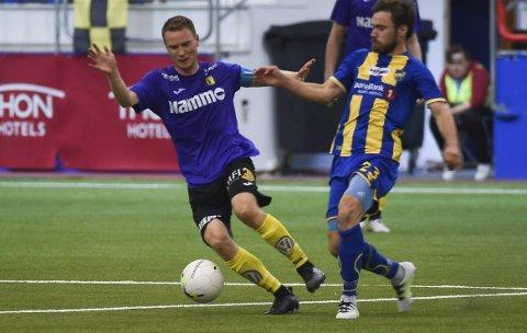 Raufoss og Håvard Nome (t.v.) møter Alta og Christian Reginussen igjen neste sesong.