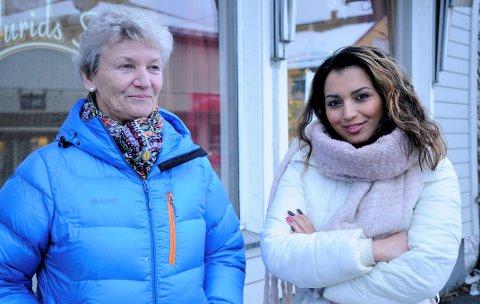 PENSJONERER SEG: Etter 50 år i bransjen pensjonerer Turid Holthe seg. Den nye eieren av Turids Salong blir Mona Gandomkar (33).