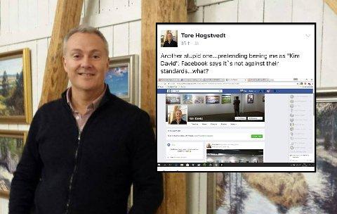 Tore Hogstvedt er lei av at svindlere forsyner seg av bildene hans. FOTO: PRIVAT