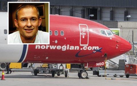 LURT: Edgar Broks mener Norwegian lyver for passasjerene.